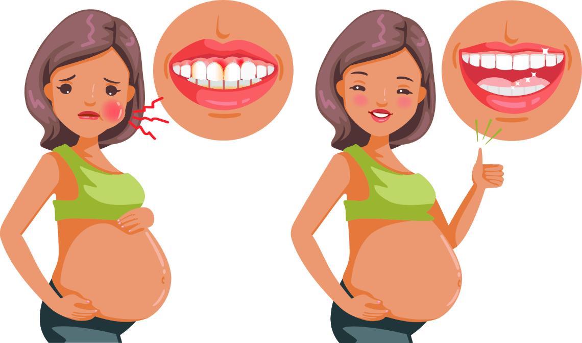 salud bucodental durante el embarazo