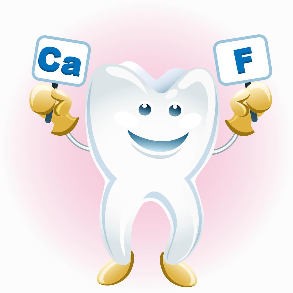 fluor dientes