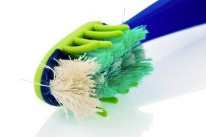 Cepillo dental en mal estado