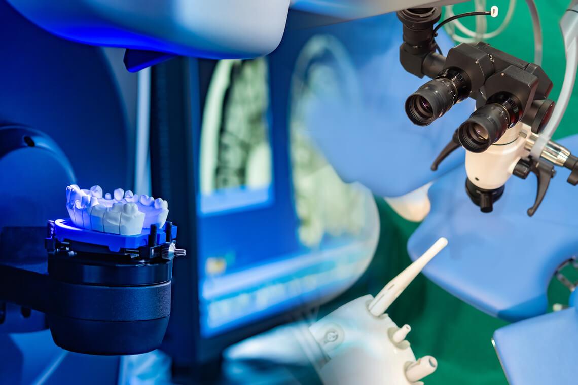 Protésico dental laboratorio