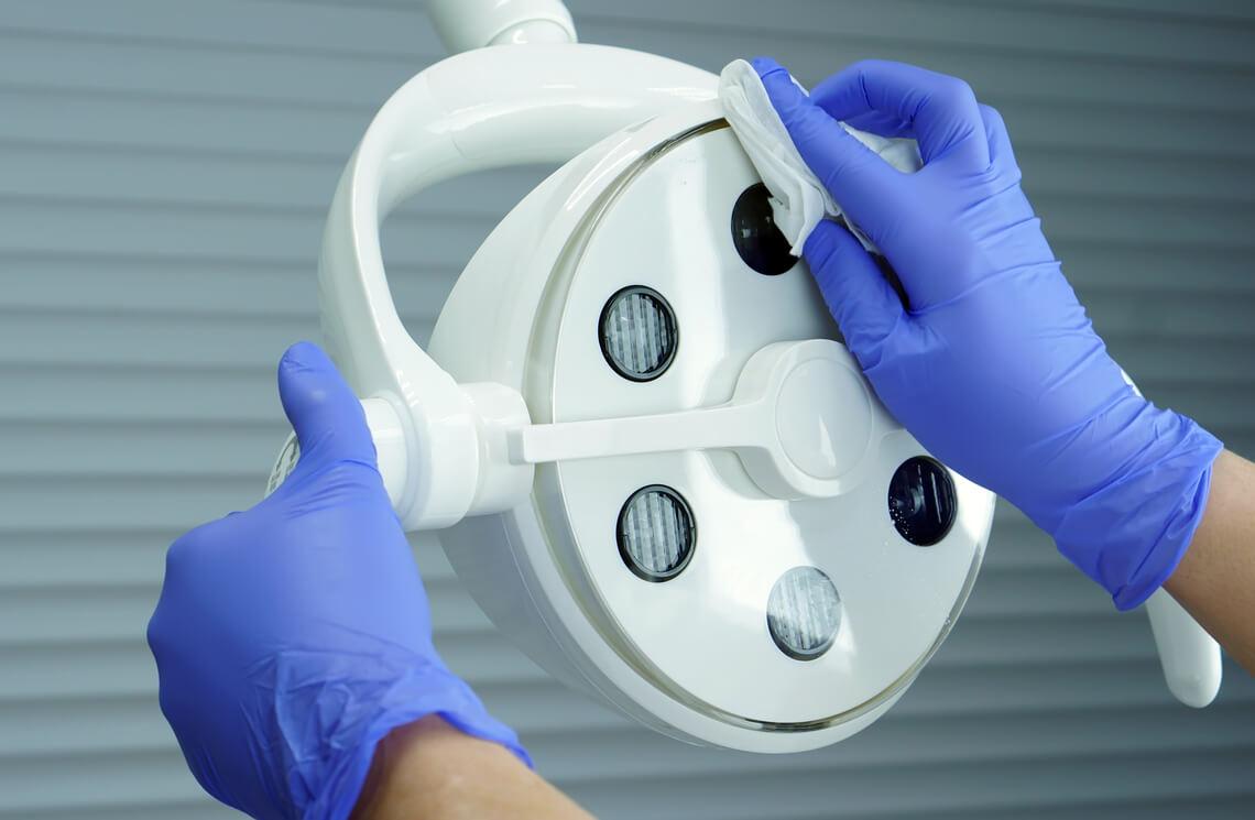 desinfección dentista