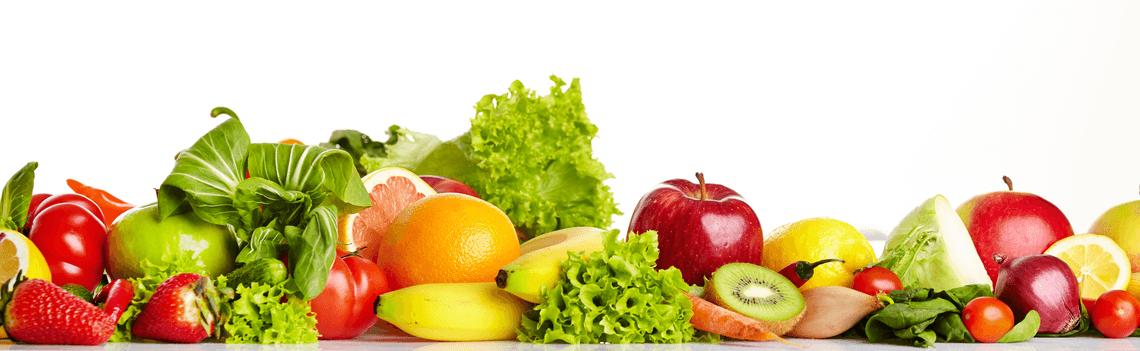 consumir alimentos crudos fruta y verdura